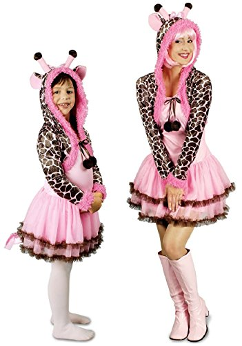 K31250254-36-38 Damen Giraffen-Kostüm Gr.36-38