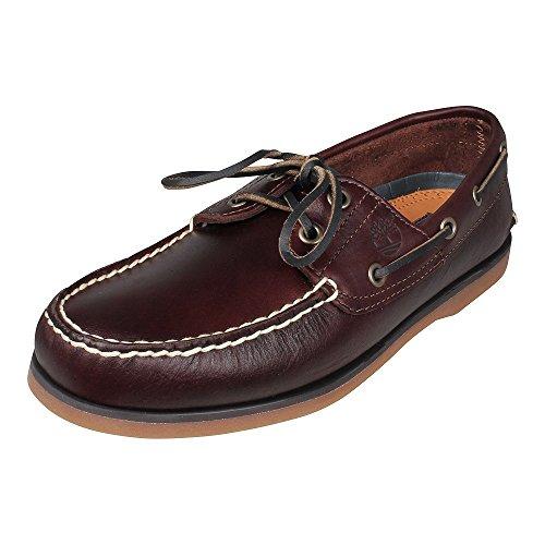 Timberland 2-Eye Boat Shoe, Zapatos del Barco