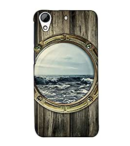 Fuson Designer Back Case Cover for HTC Desire 728 Dual Sim :: HTC Desire 728G Dual Sim (Sea theme)