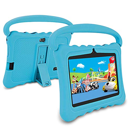 Tablet Para Niños,Tablet 7 Pulgadas WiFi 2GB de RAM 32GB de Memoria Android 6.0 Quad-Core Bluetooth/GPS/OTG Tablet de función de llamada Youtube Netflix