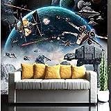 Papier peint Chambre à coucher moderne papier peint Star Wars pour chambre d'enfants Photo murale murale 3d 300x200cm