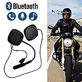 iYoung Auriculares Bluetooth 4.2 estéreos inalámbricos para el Casco de la Motocicleta, Kits del Receptor de Cabeza y micrófonos del Speakerphone Accesorio, Ultra-Larga Espera, Llamada Manos Libres
