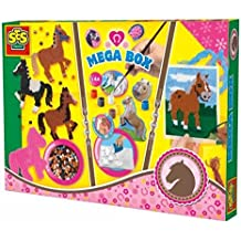 SES Creative - Megacaja de caballos, multicolor (14939)