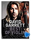 David Garrett Best Of Violin - 16 Wonderful Songs from Classic to Rock - ED23140 mit bunter herzförmiger Notenklammer