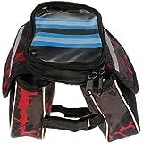 MagiDeal Bicycle Frame Pannier Bike Front Tube Bag Waterproof Cycling Saddle Bag