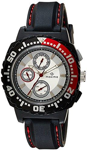 Maxima Fiber Analog White Dial Men's Watch - 30766PPGN image