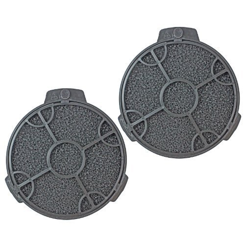2-x-Cooke-Lewis-Cooker-Hood-Carbon-Filter-Round-Filters-5-CARBFILT4