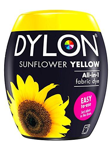 Dylon Maschine Dye Pod, Sonnenblumengelb, 8.5 x 8.5 x 9.9 cm