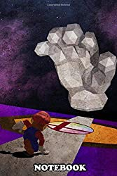 """Notebook: The Game That Started The Smash Bros Franchise Final D , Journal for Writing, College Ruled Size 6"""" x 9"""", 110 Pages"""