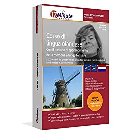 Imparare l'olandese (A1-C2): Pacchetto completo della lingua olandese. Software per Windows e Linux. Corso base + corso…