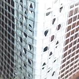 100 Stab Gewebeeckwinkel, PVC Eckwinkel mit 10cm x 15cm Gewebe je 2,5m Fassade