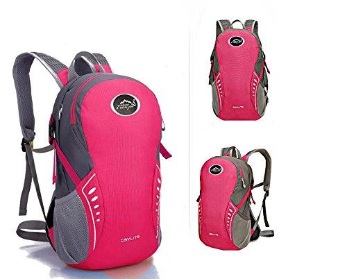 ROBAG Elegante zaino outdoor portable bike Backpack zaino , pink pink