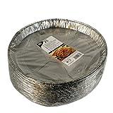 Papstar 14861 25 ronde vormen, aluminium rond, diameter 27 cm, 2,2 cm