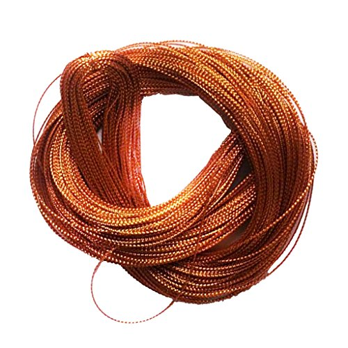 Segolike 100 Yards Nylon String Rope Cord for DIY Card Tag Jewerly Making Beading Crafts 1mm - yellow