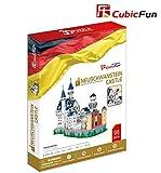 CUCUBA 3D Puzzle Schloss Neuschwanstein Deutschland 98 Stück MC062H