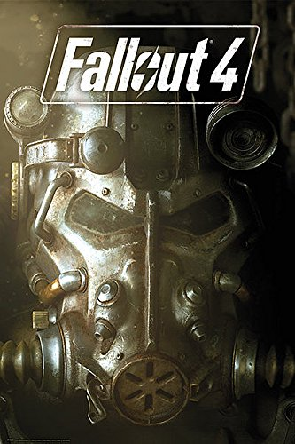 Close Up Fallout 4 Poster Maske (61cm x 91,5cm) + Original tesa Powerstrips® (1 Pack/20 STK.)