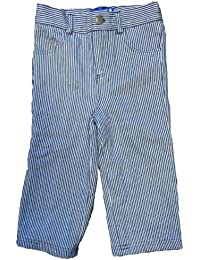 Toby Tiger Stripe Denim with Popper Easy Fit Boy's Jeans