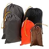 Sharplace Packbeutel Set 5-Teilig, Organizer Beutel für Koffer, Rucksack und Reisetasche, Reisebeutel Set in Verschiedenen Größen