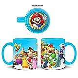 Just Funky Abysse Corp _ gifjfy003Nintendo–Mario Fireball Heat Change Mug x1, Mehrfarbig