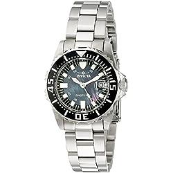 Invicta 2959 30mm Silver Steel Bracelet & Case flame fusion Women's Watch