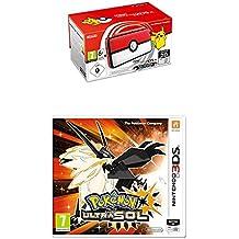 Nintendo New 2DS XL - Consola Poké Ball Edition + Pokémon Ultrasol