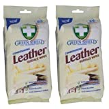 B di Creative 2 xgreen Shield Conditioning Leather Surface Salviette 50 Pack – Extra Large Wipes