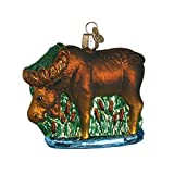 Best Animal World Mooses - Old World Christmas Glass Blown Ornament with S-Hook Review
