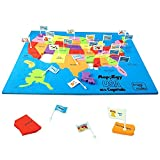 #8: Imagimake: Mapology USA with Capitals- Learn USA States Along with Their Capitals and Fun Facts- Fun Jigsaw Puzzle- Educational Toy for Kids Above 5 Years