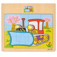 Uteruik Jigsaw Puzzle Toy Wooden Educational Learning Puzzle Toys for Kids
