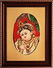 Dollar Krishna (Mixed Media by Vidya Sridharan)