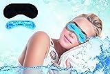daydream Premium-Schlafmaske mit Kühlkissen (auch als Kühlmaske verwendbar), der Topseller seit 10 Jahren - Sieger beim Schlafmasken-Test von Vergleich.org, Schlafmasken, Schlafbrille