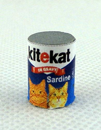 Preisvergleich Produktbild Puppenhaus Miniatur Haustier Zubehör Große Dose Kitekat Katzenfutter
