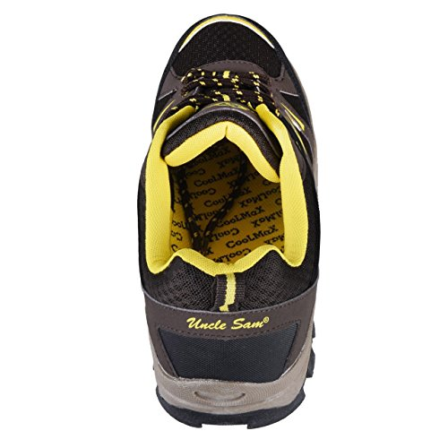HSM, Chaussures montantes pour Homme Braun/Gelb