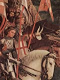 Lais Puzzle Jan Van Eyck - Genter Altar, Altar des Mystischen Lammes, Die Gerechten Ritter (Kopie) 100 Teile