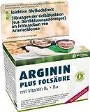 ARGININ PLUS FOLSÄURE (PFLANZLICHES ARGININ), VITAMIN B6 UND B12, QUALITÄT MIT PRÜFSIEGEL, 120 KAPSELN