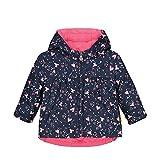 Steiff Baby-Mädchen mit Teddybärprint Jacke, Rosa (Pink Dove 2203),74 (Herstellergröße: 074)