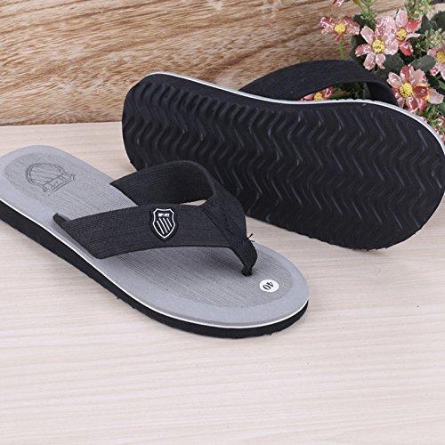 Les hommes de lété, les hommes les chaussons, tongs chaussures de plage, chaussons, chaussons daccueil white