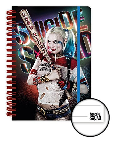 Suicide Squad Notebook A5 Harley Quinn Good Night Case (12) Cancelleria