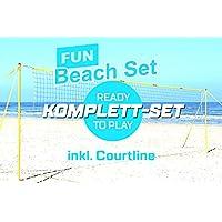 Diversión de la playa conjunto - completo de voleibol de playa-central eléctrica