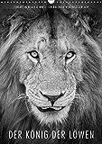 FineArt in Black and White: Der König der Löwen (Wandkalender 2018 DIN A3 hoch): Für diesen wunderschönen Planer hat Ingo Gerlach besten Löwenbilder ... [Kalender] [Apr 01, 2017] Gerlach, Ingo