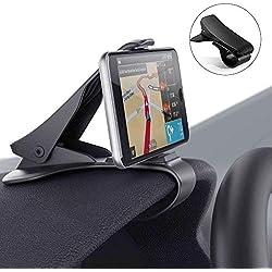 Support Voiture Auto, Modohe Support Téléphone Universel Portable Fixation Puissante pour iPhone 7 7 Plus 6 6s Plus, Nokia, Wiko, Huawei, HTC, Sony et d'Autre Smartphone Tablet GPS Moins de 6,5 pouces
