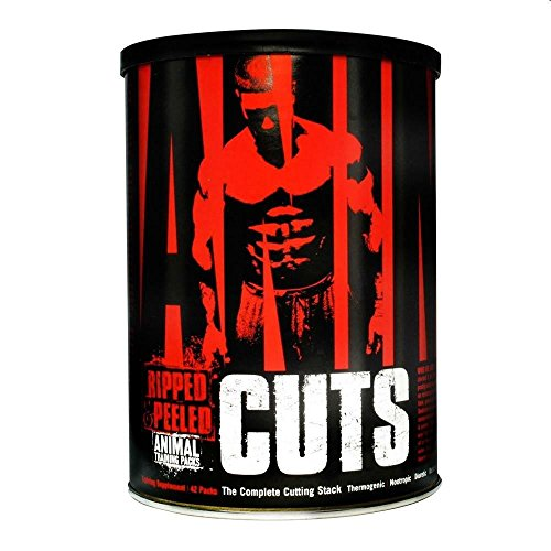 Universal Nutrition Animal Cuts Ripped & Peeled Muskelaufbau - 42 Packungen