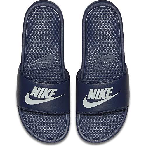 Nike Benassi, Ciabatte Uomo, Blu (Midnight Navy/Windchill 403), 45 EU