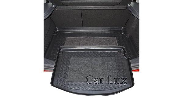 Car Lux Bac de coffre avec tapis pour Renault Megane 3 5 portes mod/èles /à partir de 2008