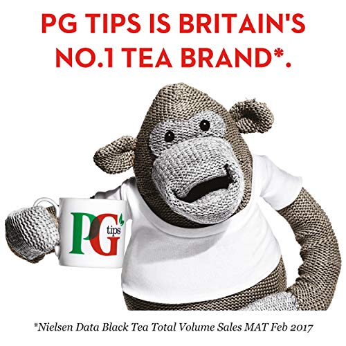 PG Tips Tagged One Cup Tea Bags (Pack of 100)