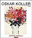 Oskar Koller - Die Farben der Blumen: Die Farben der Blumen. Wandkalender 2020. Monatskalendarium. Spiralbindung. Format 46 x 55 cm - Oskar Koller