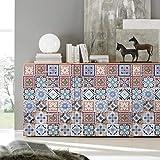 JY ART Fliesenaufkleber für Küche und Bad | Mosaik-Stil Designs Wandfliesen Aufkleber für Fliesen | Fliesen-Aufkleber Folie | Deko-Fliesenfolie (PG108), 20cm*5m