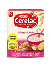Nestle Cerelac Infant Cereal Stage-4 (12 Months-18 Months) Multi Grain & Fruits - 300g