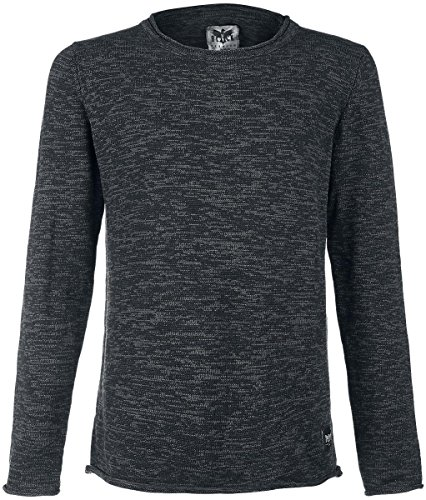 Black Premium by EMP Melange Sweatshirt Sweat-Shirt anthrazit Anthrazit