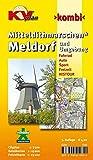 Amtskartenset Mitteldithmarschen / Meldorf und Umgebung: 1:15.000 Gemeindepläne mit Freizeitkarte 1:25.000 inkl. Radroutennetz Cityplan 1:7.500 (KVplan Schleswig-Holstein-Region) - Kommunalverlag Tacken e.K.